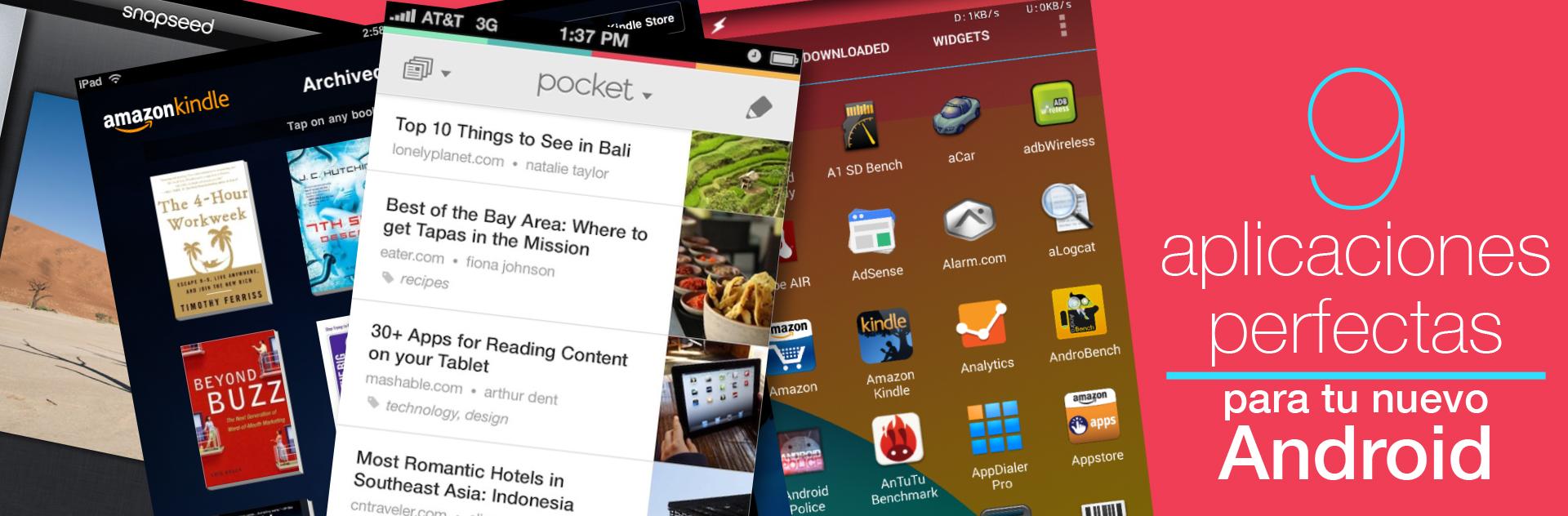 Aplicaciones 9app Android